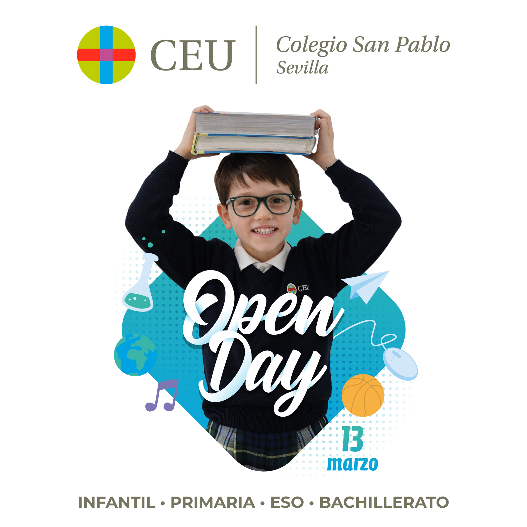 Open Day virtual - Colegio CEU San Pablo Sevilla